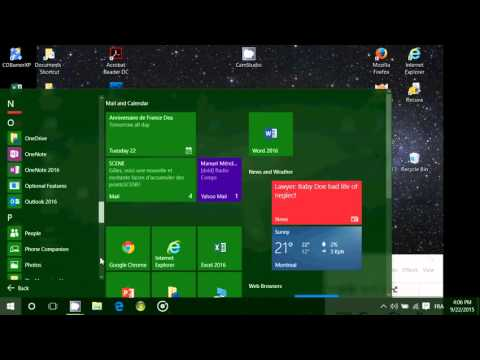 Windows 10 Where is the Accessories folder located in start menu