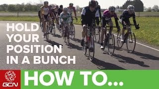 How To Hold Your Position In A Bunch | Racesmart