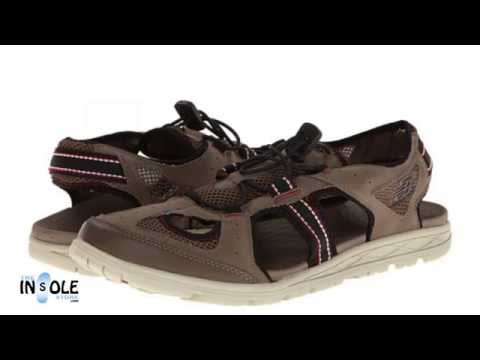 New Balance RevitalignRX Preserve Beige Orthotic Sandals @TheInsoleStore.com