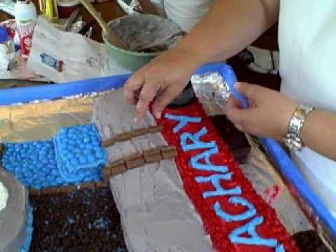 FUN CAKE DECORATION TUTORIAL