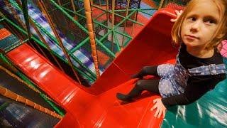 Fun at Busfabriken Indoor Play Center (playground family fun for kids) #1