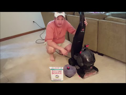 Clean Your Carpets (One Weird Trick) How To Use BORAX to Boost Your Carpet Cleaning Machine