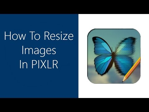 How to Resize Images In Pixlr Editor