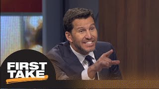 Will Cain: Sam Darnold should start for Jets in Week 1 | First Take | ESPN