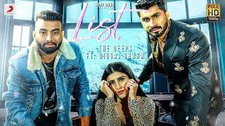 The Deeps - List  feat. Diggaj Dharma | Archie | Latest Punjabi Song 2019