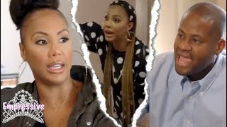 Tamar Braxton and Vince fighting each other on TV | Embarrassing SMH! (Episode Review)