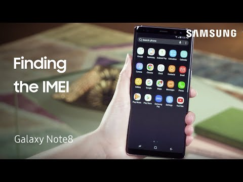 Finding the IMEI on Your Samsung Galaxy Note8