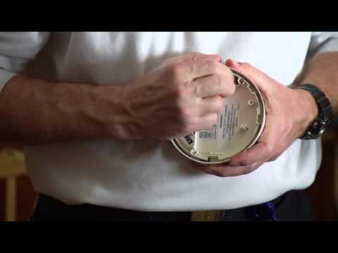 How to change a battery in a DMP Carbon Monoxide Detector