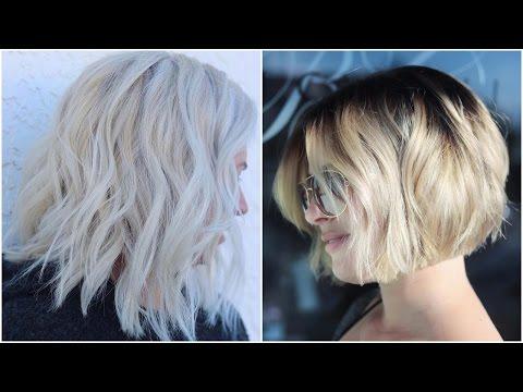 Awe-inspiring Asymmetrical Bobs Haircuts 2018   Videos Compilation