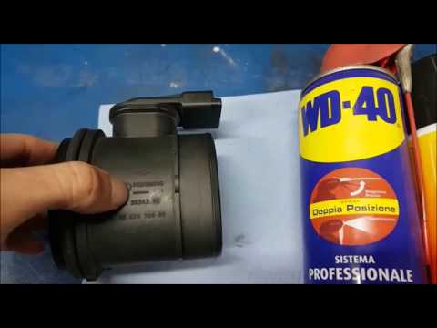 How to clean the airflow meter. ALL CARS