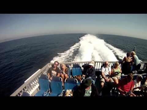 Timelapse Long Beach to Catalina Island