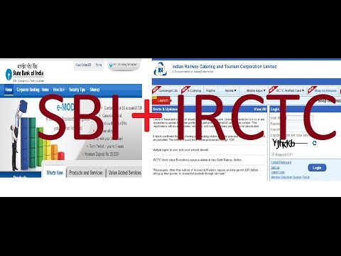 How to use for IRCTC+SBI Quick Pay in OnlineSbi and IRCTC site