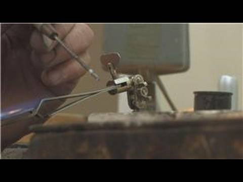 Jewelry Making : How to Solder Gold Jewelry