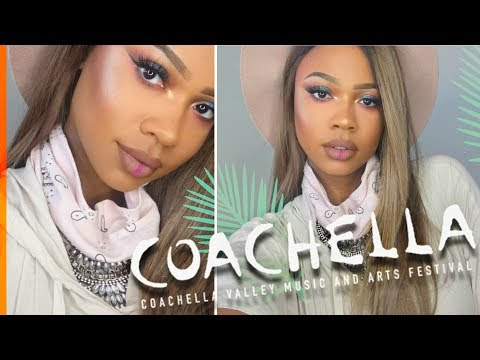 2018 COACHELLA MUSIC FESTIVAL MAKEUP TUTORIAL