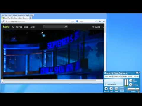How to Use Background Mode in Replay Video Capture 7 - Screen Capture from Minimized Windows