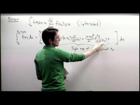 Lecture: Higher-order Integration Schemes