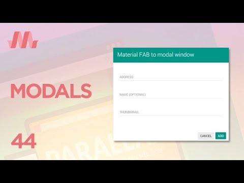 Curso Materialize CSS - Aula 44 - Javascript (Modais)