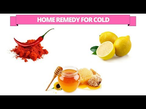 home remedy to get rid of cold - Get rid of cold with chilli powder, Honey