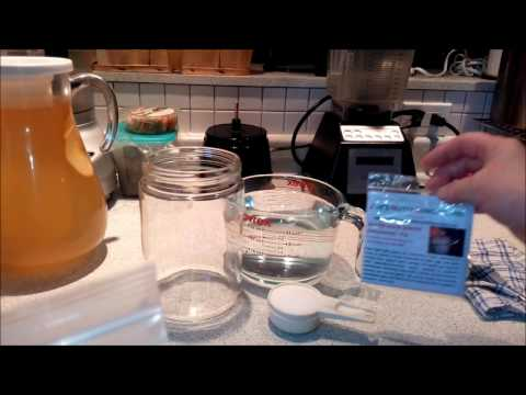 Pt 1 - How to Freshen Dehydrated Water Kefir Grains