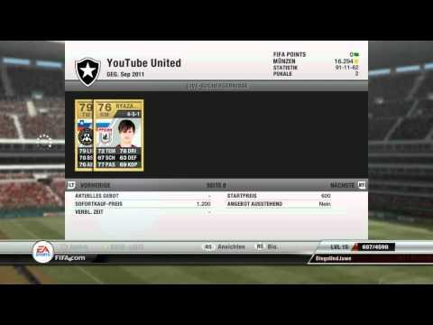 FIFA 12 Ultimate Team - Münzen machen mit Diego - Tipps und Tricks - Part 2