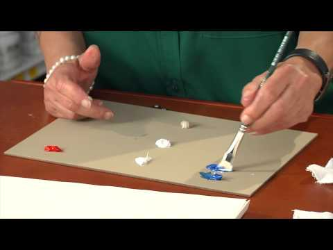 How to Add White to Lighten the Color of Oil Paint : Painting Basics