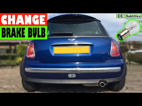 How to change brake light bulb on Mini R50 R53 2000-2006 First Generation