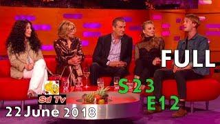 FULL Graham Norton Show S23E12 Cher, Christine Baranski, Rupert Everett, Natalie Dormer, Tom Odell
