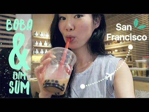 San Francisco Vlog ♥ Bubble Tea & Dim Sum // June 2017