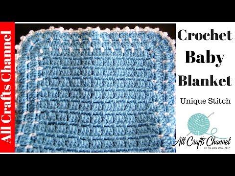Easy to Crochet Blanket - UNIQUE look - Yolanda Soto Lopez
