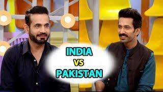 Ind vs Pak मैचों में खिलाड़ियों के भिड़ंत की कहानी IRFAN PATHAN की जुबानी | Nakuul Mehta | #CWC2019