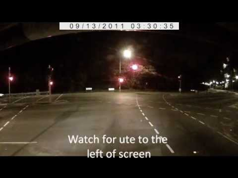 Redlight camera, STOP BEFORE THE LINE!!