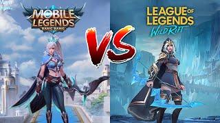 Mobile Legends Vs League of Legends Wild Rift
