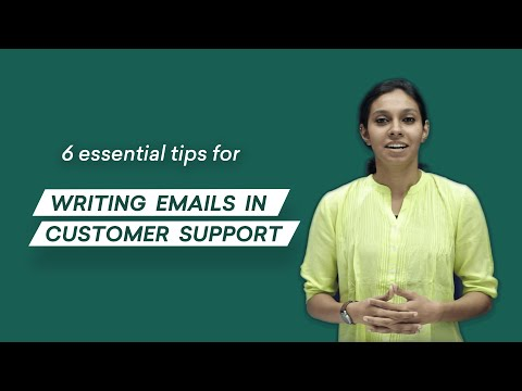 Writing emails in customer support: 6 tips you can use (ACTIONABLE)