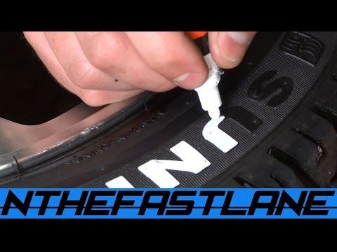 Tire Lettering Paint