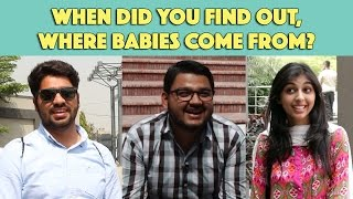Bolo Pakistan   When did you find out where babies come from?   MangoBaaz