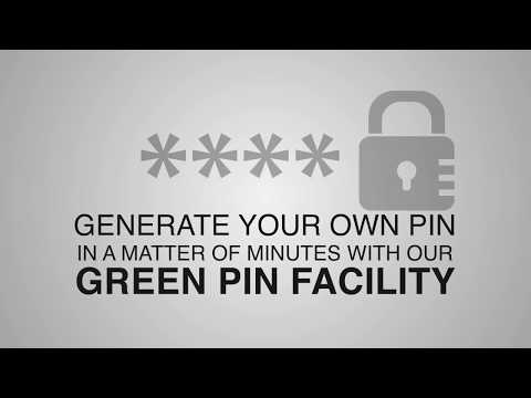 Generating Green PIN for your Indian Bank Debit & Credit Card