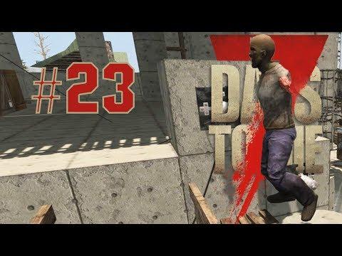 7 Days to die   Nag tour ang zombie sa bahay #23 (TAGALOG)