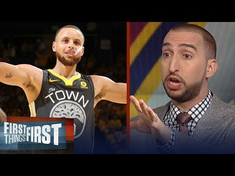 Nick Wright on Curry's Finals record nine 3's to defeat LeBron's Cavs   NBA   FIRST THINGS FIRST