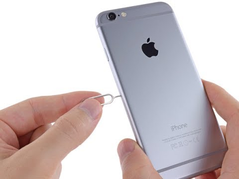 Two ways to fix jammed sim card on iphone 6/6s/6+/6s+/