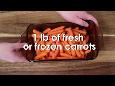 In the Kitchen: Honey Glazed Carrots