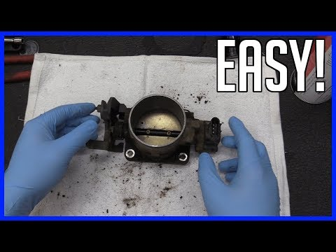 How to Service Thottle Body Housing and Plate Ford F-150 4.6L V8 1997–2003 | EASY!