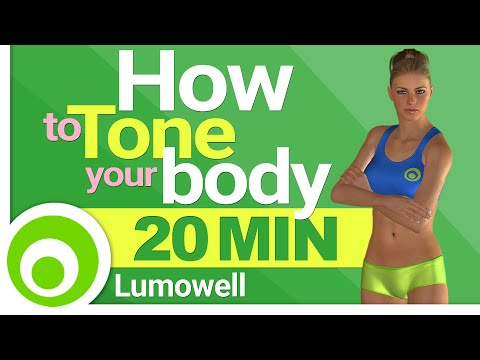How to Tone your Body: Full Body Toning Exercises at Home