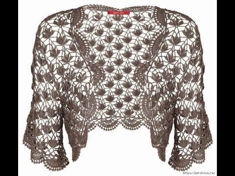 Crochet Shrug| free |Crochet patterns| 365