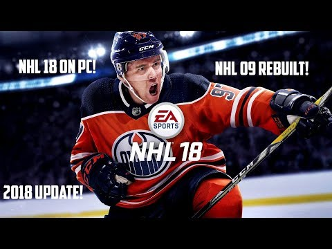NHL 09 REBUILT TO NHL 18! (PC) *NEW 2018* STADIUMS, HORNS, ROSTERS & JERSEYS!