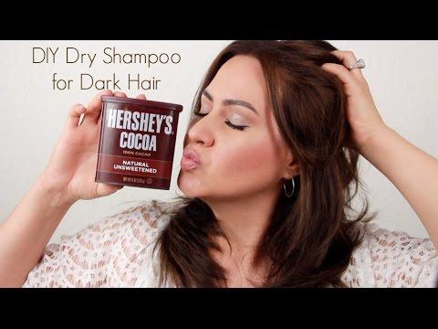 DIY Dry Shampoo - For Dark Hair