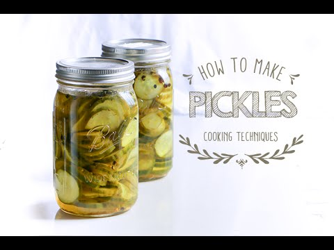 How to make Pickels - Pickled Cucumber -Quick Pickles