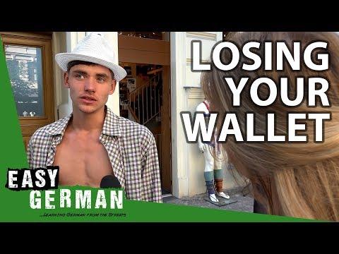 Losing your wallet in Germany | Easy German 249
