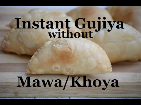 Instant Gujiya without Mawa/Khoya for Holi by Flavour Basket