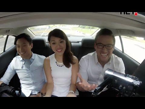 Car ride with fresh gradsfrom NTU Singapore