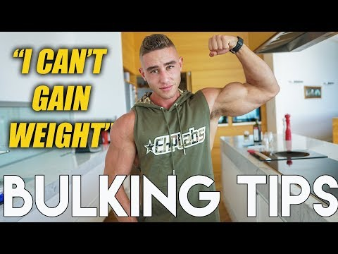 5 TIPS TO GAIN WEIGHT | Hardgainer's Bulking Hacks